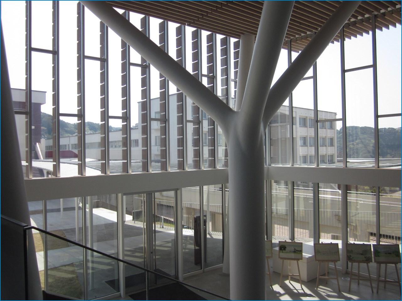 静岡理工科大学 理工学部 建築学科棟の見学 1_c0376508_15421272.jpg