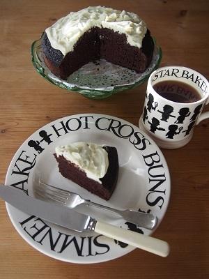 St Patrick\'s Dayにギネスビールを使ったチョコレートケーキを焼く_f0238789_22575099.jpg