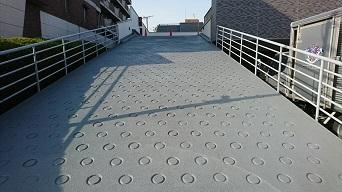 駐車場スロープ防水工事(練馬区)_c0183605_10382824.jpg