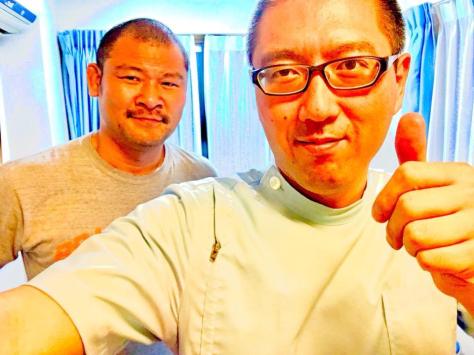 元ラグビー日本代表 日本ラグビー界の『野人』宮下哲朗さんご来院_a0112393_19243235.jpg