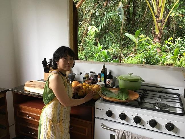 ハワイ島での料理教室_a0170699_20391135.jpg