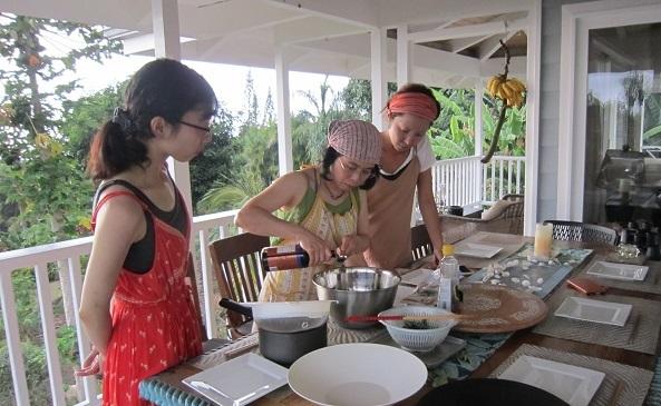 ハワイ島での料理教室_a0170699_21193113.jpg