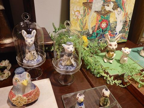 MINA TAKAHEI EXHIBVITION L\'OISEAU ET L\'ENFANT_c0127428_20572968.jpg