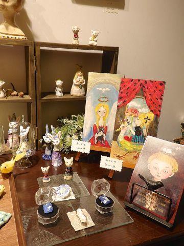 MINA TAKAHEI EXHIBVITION L\'OISEAU ET L\'ENFANT_c0127428_20580502.jpg