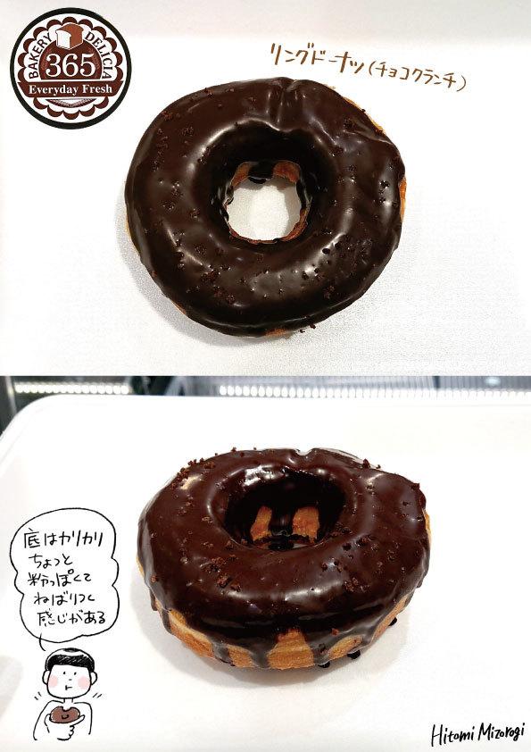 【2018年長野ドーナツの旅:その4】365BAKERY「チョコレートドーナツ」【レジがおもしろかった】_d0272182_22045665.jpg