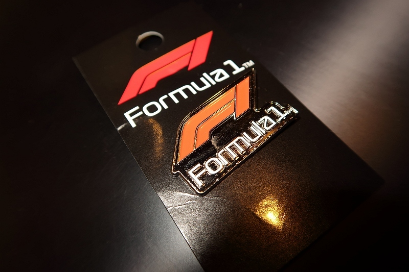 NEW F1 LOGO PIN - E's Monologue.