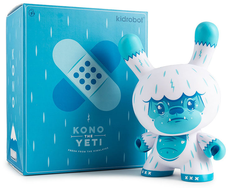 "Kono The Yeti 8"" Dunny by Squink_e0118156_01515125.jpg"