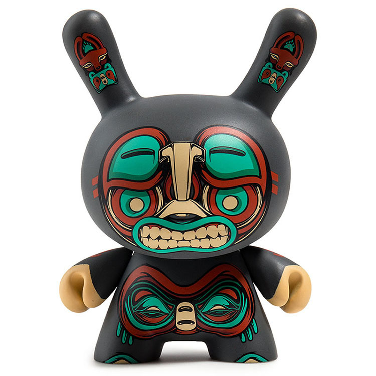 "Kuba 5"" Dunny by Mike Fudge_e0118156_01542365.jpg"