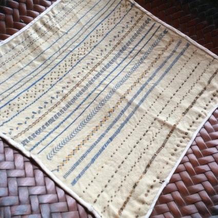 インドの女子修道院の刺繍やレース、それからヨーロッパのサンプラーも_f0108001_11424856.jpg