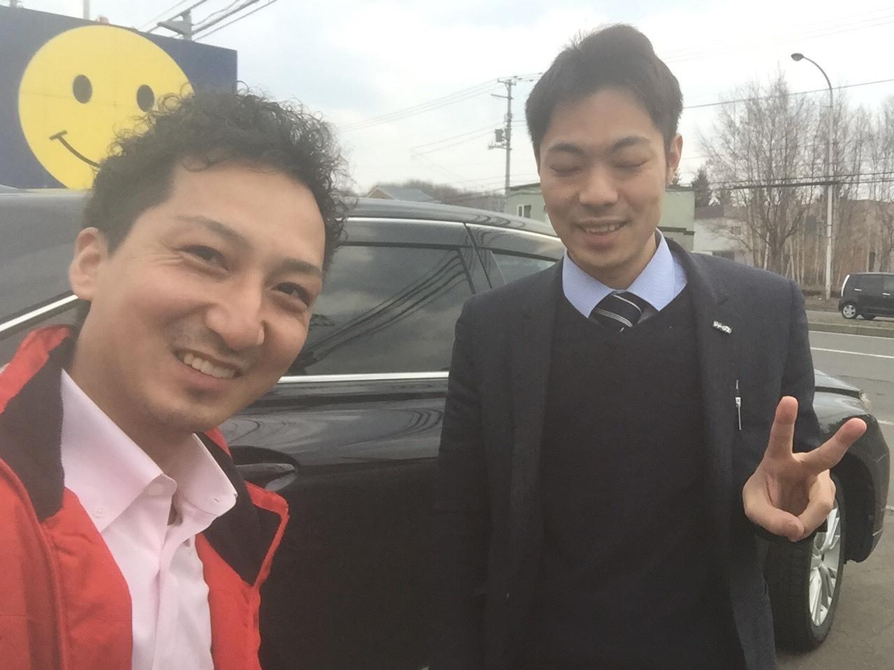 4月8日(日)☻しまぶろぐ☻アルファードO様納車( ✧Д✧)N様ウィッシュご成約◝(⁰▿⁰)◜_b0127002_16262788.jpg