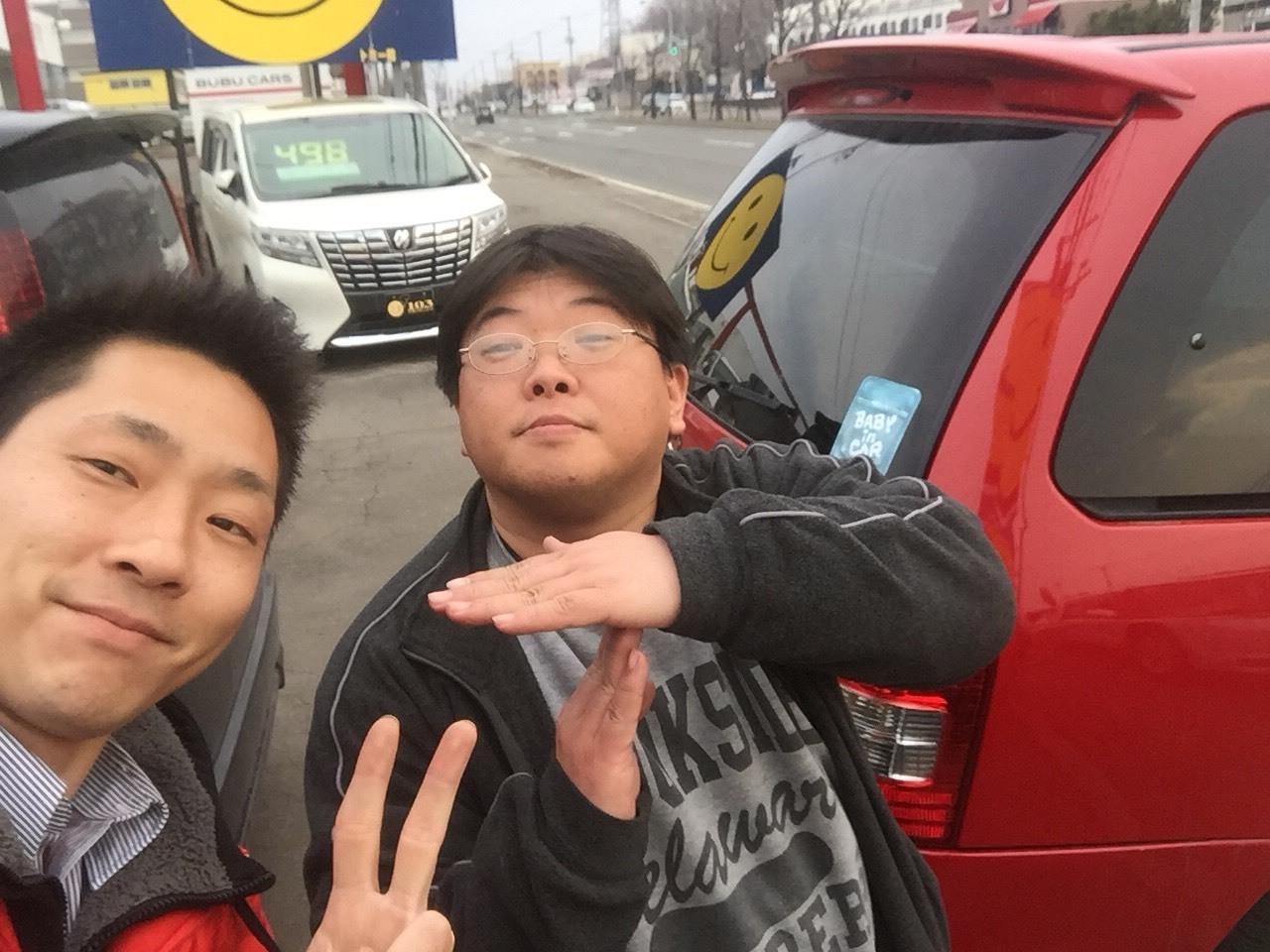 4月8日(日)☻しまぶろぐ☻アルファードO様納車( ✧Д✧)N様ウィッシュご成約◝(⁰▿⁰)◜_b0127002_16281851.jpg