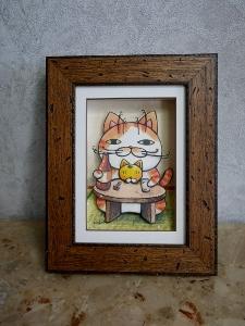 可愛いネコちゃんの作品_b0107544_20403009.jpg