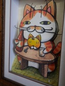 可愛いネコちゃんの作品_b0107544_20404761.jpg