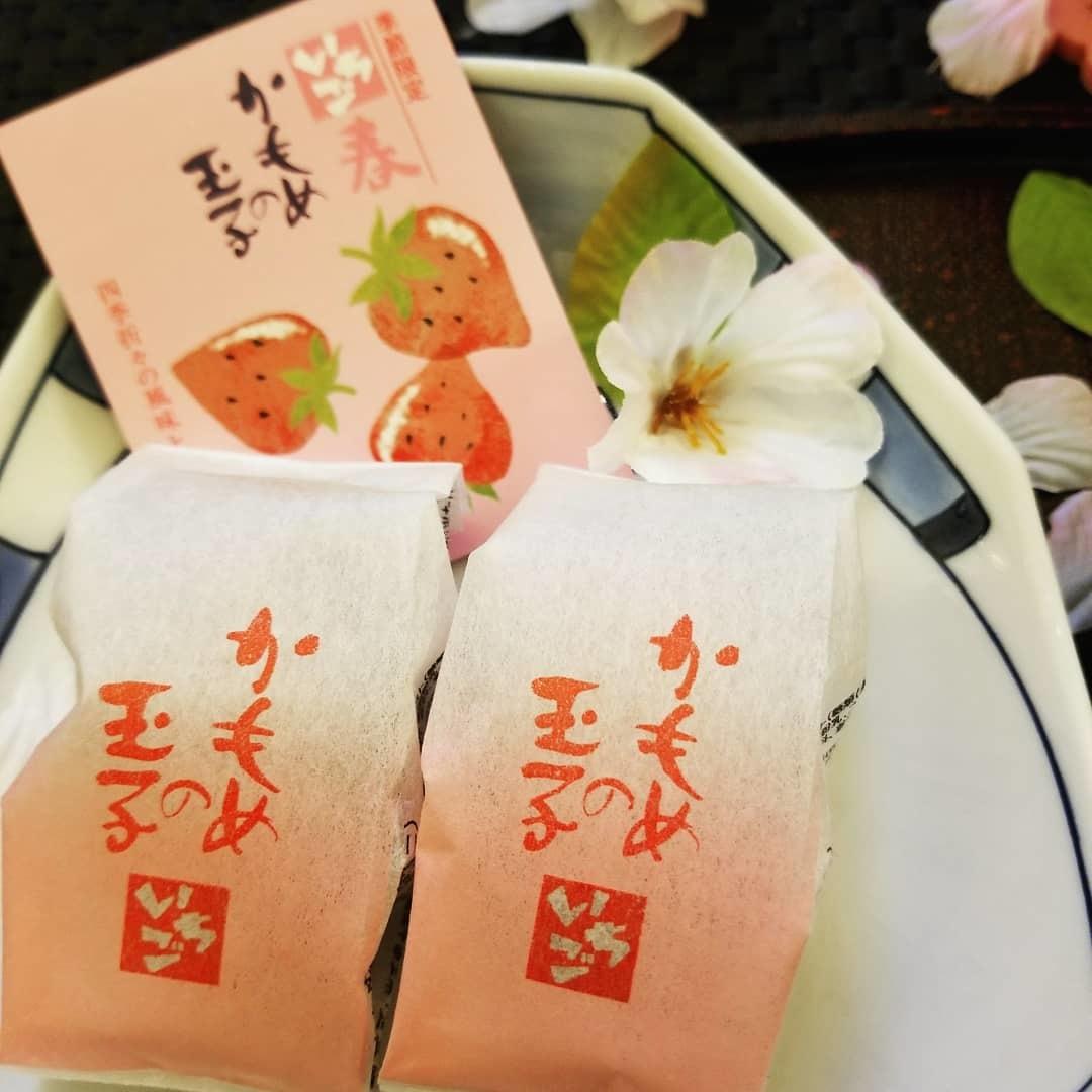 4月8日*軽井沢の桜 ~ 春限定*いちごかもめの玉子_f0236260_18515500.jpg