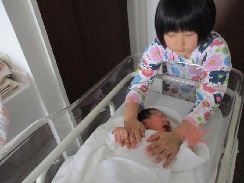 4月9日(月)・・・無事、出産。_f0202703_22273838.jpg