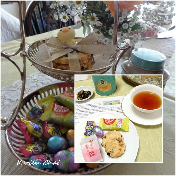 イースターのお茶会セミナー …and 紅茶と水の関係!_c0079828_11092878.jpg