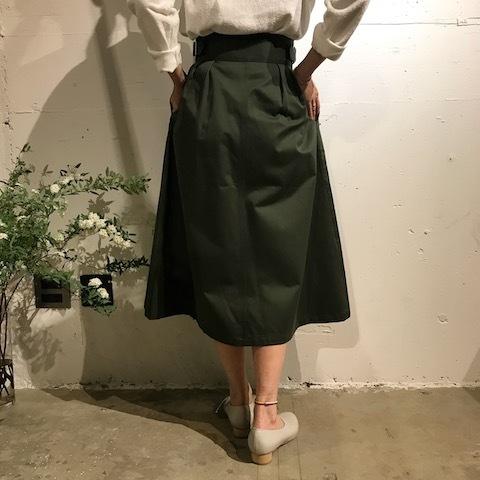 春にはグリーンのスカート _d0364239_19354979.jpg
