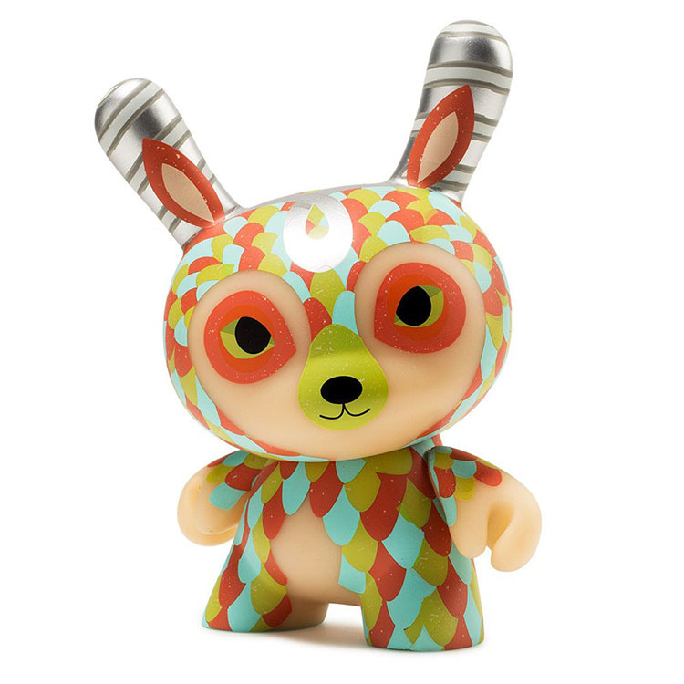"The Curly Horned Dunnylope 5"" Dunny by Horrible Adorables_e0118156_19245576.jpg"