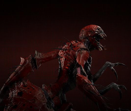 ゲーム「EVOLVE Gorgon(Scarlst Skin)でハンター殲滅(ハンター側有利設定」_b0362459_00104371.png