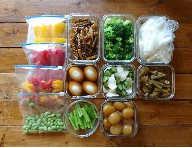 イエシゴトVol.253 野菜の常備菜と干し野菜で後始末_e0274872_08582734.jpg