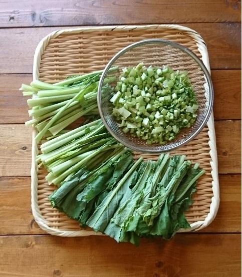 イエシゴトVol.253 野菜の常備菜と干し野菜で後始末_e0274872_08584248.jpg
