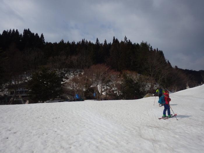 吾妻山・栂森(峠駅から大沢駅まで)~ 2018年3月25日_f0170180_23155279.jpg
