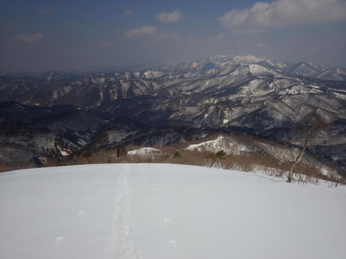 吾妻山・栂森(峠駅から大沢駅まで)~ 2018年3月25日_f0170180_23461135.jpg