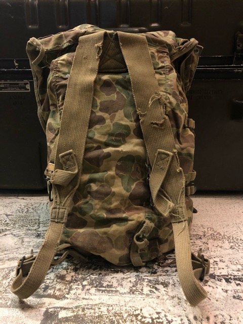 4月11日(水)大阪店ヴィンテージ入荷!#4 U.S.Military編!M-1943 FlogSkinJunglePack!!_c0078587_16183735.jpg