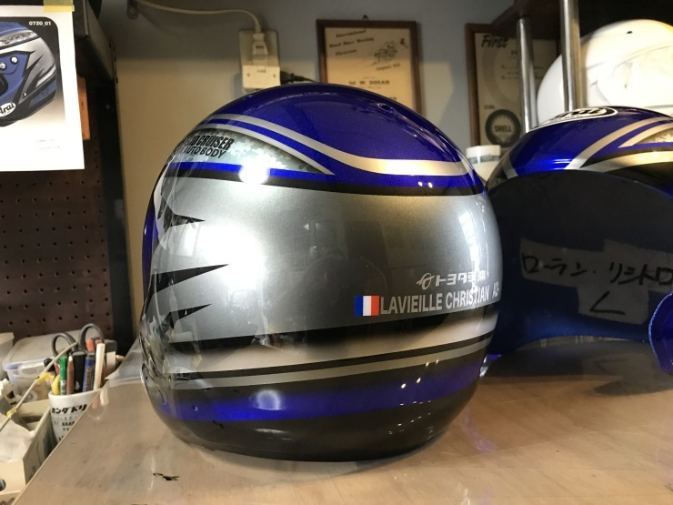 TLC 2018ダカールラリー用ヘルメット_e0196826_18192992.jpg