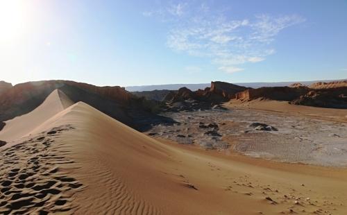 アタカマ砂漠の「月の谷」_c0011649_22015370.jpg