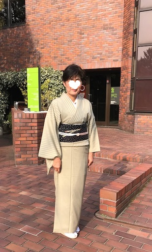 野田さんコンサート・西陣まいづる桜の花びら名古屋帯。_f0181251_1551145.jpg