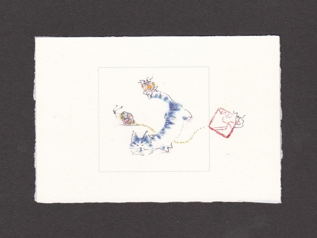 《 画室『游』 《 手作り絵葉書 7 》_f0159856_17191503.jpg
