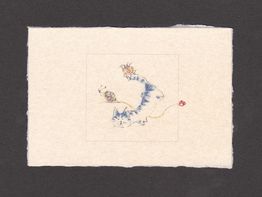 《 画室『游』 《 手作り絵葉書 7 》_f0159856_17193668.jpg