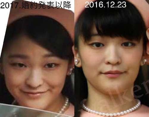 眞子様と偽マコ比較第2弾_c0385678_11004152.jpg