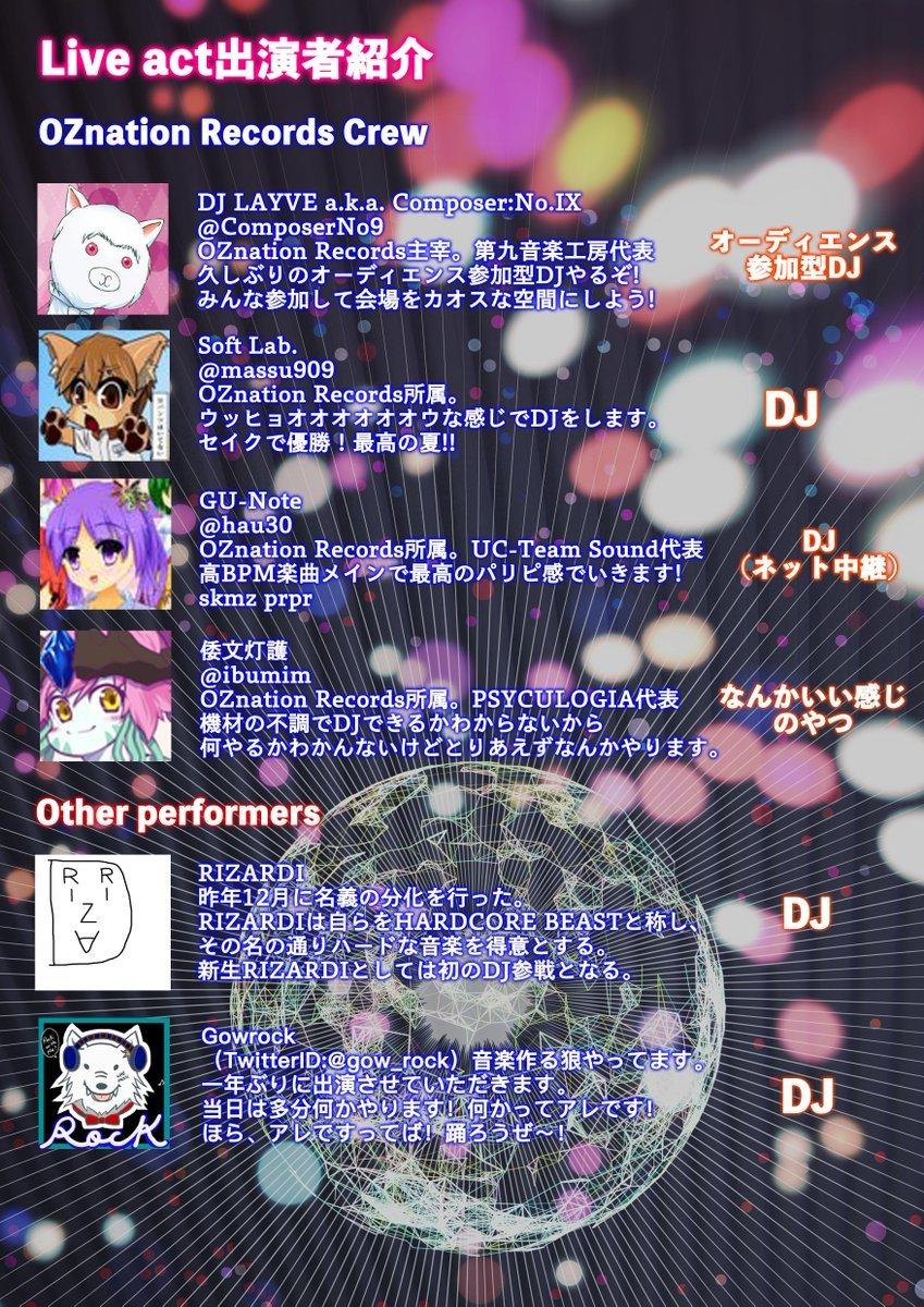 04/28(土)OZnation Party_c0099300_14503566.jpg