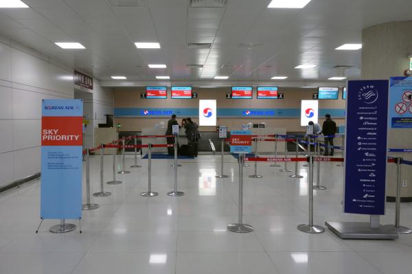 大韓航空 国内線 ビジネスクラス KE1256 済州KALラウンジ 済州・ソウルの旅 2018年3月  대한항공 국내선 비즈니스 글래스 A330-300 제주-김포_f0117059_23154990.jpg