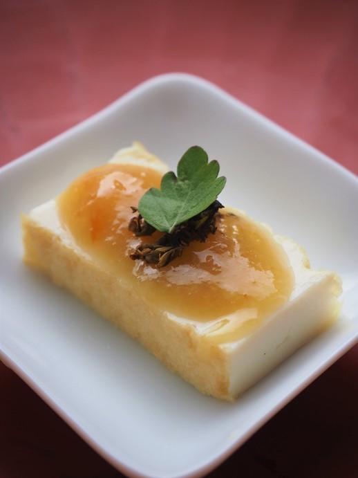 夏蜜柑味噌のせ厚揚豆腐_e0148373_22533006.jpg