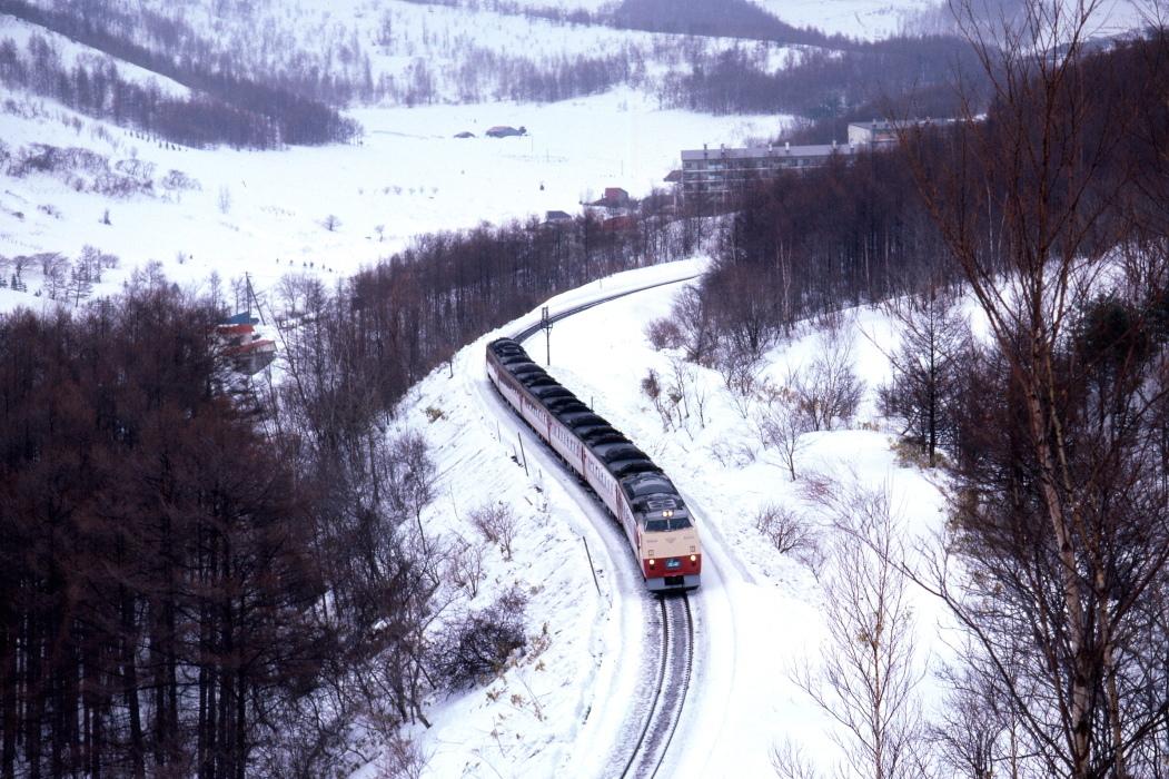 山線の特急 - 函館本線・1986年 -_b0190710_22180649.jpg