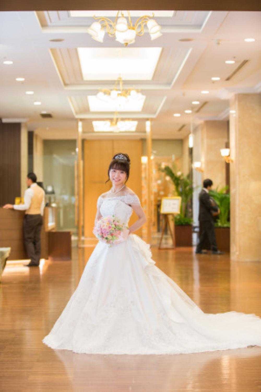 新郎新婦様からのメール ホテル椿山荘東京の花嫁様花婿様より プリザーブドのブーケ_a0042928_12564598.jpg