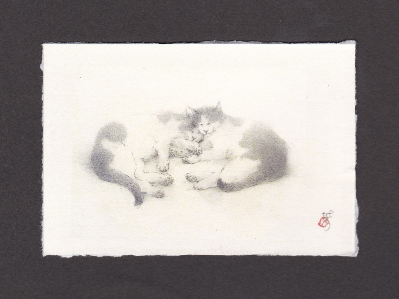 《 画室『游』 《 手作り絵葉書 7 》_f0159856_16554224.jpg