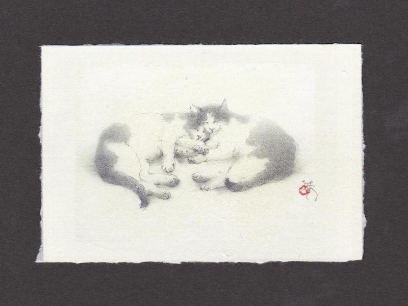 《 画室『游』 《 手作り絵葉書 7 》_f0159856_16555130.jpg