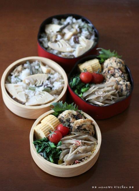 筍と山菜の炊き込みご飯 ✿ 期間限定(๑¯﹃¯๑)♪_c0139375_1049264.jpg
