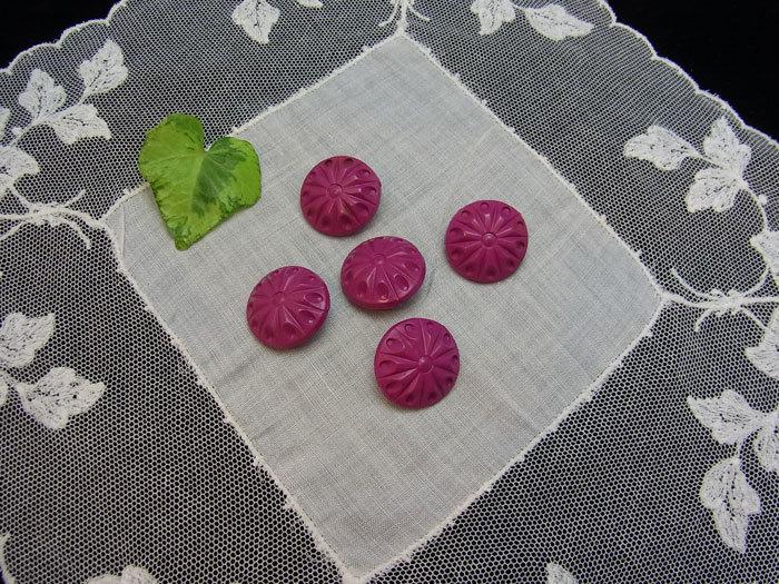 素敵なローズ・ピンクのボタンです♪_d0127182_17143171.jpg