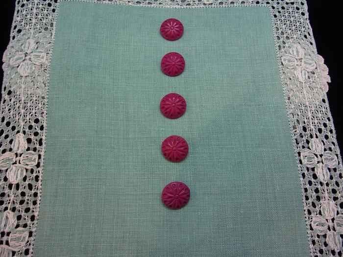 素敵なローズ・ピンクのボタンです♪_d0127182_17150827.jpg