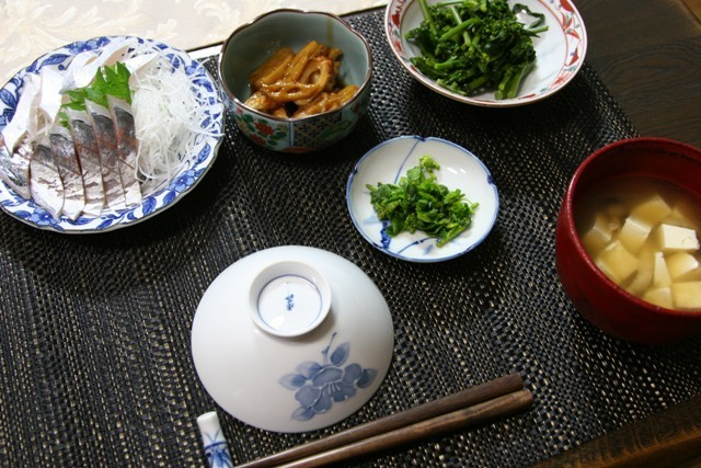 春の畑の野菜で夕飯_f0229190_16360925.jpg
