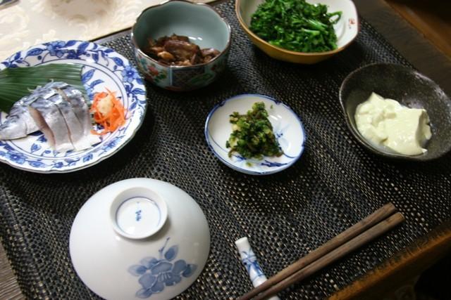 春の畑の野菜で夕飯_f0229190_16455094.jpg