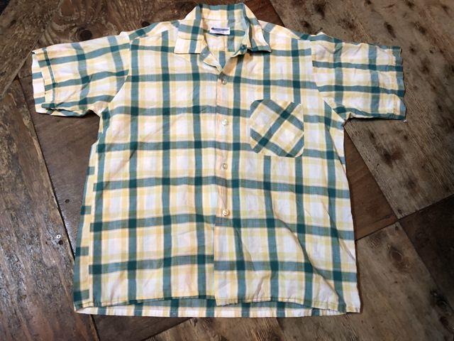 4月14日(土)入荷!60s all cotton ボックスシャツ!_c0144020_14575307.jpg