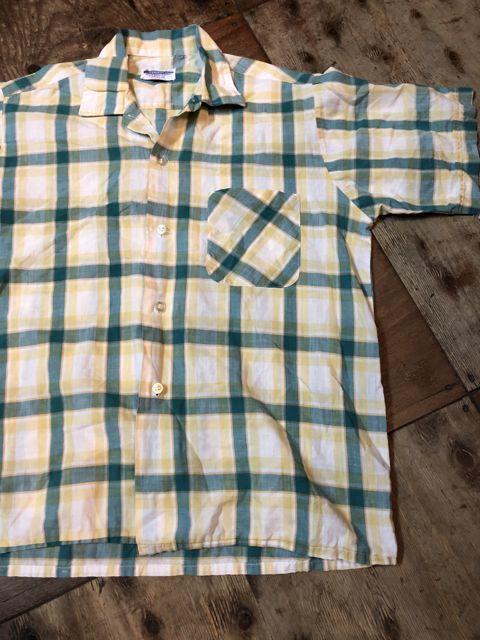 4月14日(土)入荷!60s all cotton ボックスシャツ!_c0144020_14575644.jpg