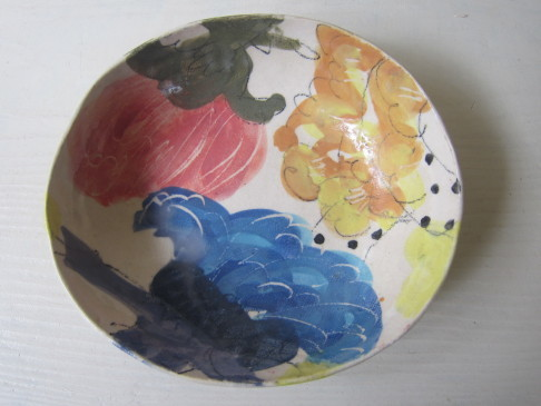 カレー皿/伊集院真理子さん_b0207631_09164282.jpg