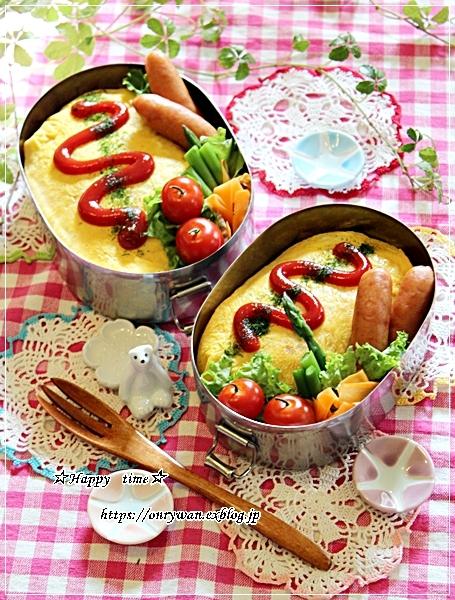 おかずに困ったら、オムライス弁当と今夜は筍入り麻婆豆腐♪_f0348032_18404151.jpg